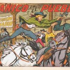 Tebeos: PÁNICO EN EL PUEBLO CON EL PEQUEÑO LUCHADOR Nº 175 FACSÍMIL . Lote 129605415