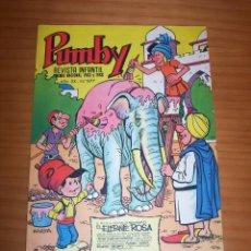 Tebeos: PUMBY - NÚMERO 877 - AÑO 1974 - PERFECTO ESTADO. Lote 129694323