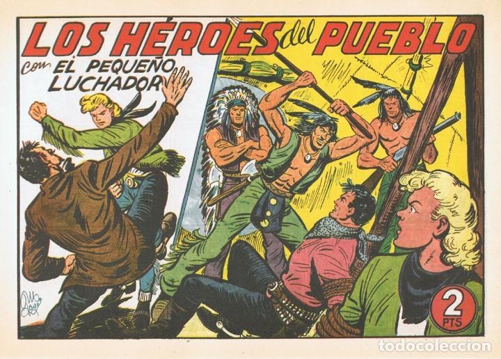 LOS HÉROES DEL PUEBLO CON EL PEQUEÑO LUCHADOR Nº 184 FACSÍMIL (Tebeos y Comics - Valenciana - Pequeño Luchador)