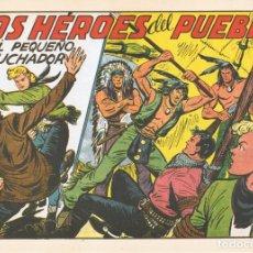 Tebeos: LOS HÉROES DEL PUEBLO CON EL PEQUEÑO LUCHADOR Nº 184 FACSÍMIL . Lote 129695107