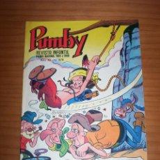 Tebeos: PUMBY - NÚMERO 878 - AÑO 1974 - PERFECTO ESTADO. Lote 129695623