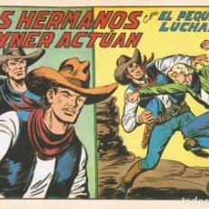 Livros de Banda Desenhada: LOS HERMANOS JAYNER ACTÚAN CON EL PEQUEÑO LUCHADOR Nº 209 FACSÍMIL . Lote 129711671
