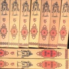 Tebeos: EL GUERRERO DEL ANTIFAZ TOMOS 1 A 12 (VALENCIANA, 1975) IMPECABLES. Lote 129986347
