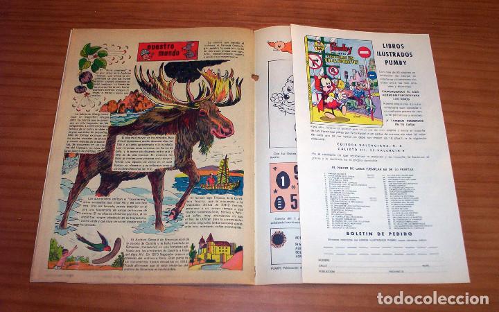 Tebeos: PUMBY - NÚMERO 904 - AÑO 1975 - PERFECTO ESTADO - Foto 6 - 130046331