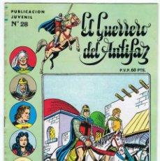 Tebeos: EL GUERRERO DEL ANTIFAZ Nº 28. Lote 130067823