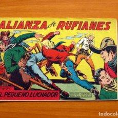 Tebeos: EL PEQUEÑO LUCHADOR - ALIANZA DE RUFIANES, Nº 80 - EDITORIAL VALENCIANA 1960. Lote 130181215