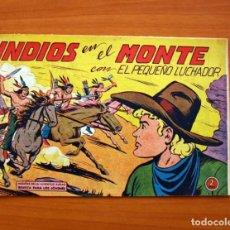 Tebeos: EL PEQUEÑO LUCHADOR - INDIOS EN EL MONTE, Nº 120 - EDITORIAL VALENCIANA 1960. Lote 130237646