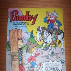 Tebeos: PUMBY - NÚMERO 891 - AÑO 1974 - PERFECTO ESTADO. Lote 130242306