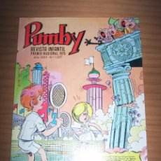 Tebeos: PUMBY - NÚMERO 1017 - AÑO 1977 - PERFECTO ESTADO. Lote 130600738
