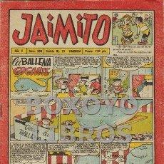Tebeos: JAIMITO. AÑO X. NÚM 284. Lote 130645503