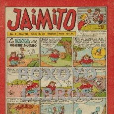 Tebeos: JAIMITO. AÑO X. NÚM 285. Lote 130645508