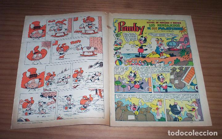 Tebeos: PUMBY - NÚMERO 893: EXTRA DE NAVIDAD Y REYES - AÑO 1974 - MUY BUEN ESTADO - Foto 2 - 130773376