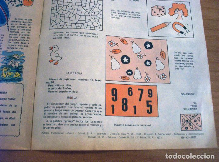 Tebeos: PUMBY - NÚMERO 1045 - AÑO 1977 - PERFECTO ESTADO - Foto 8 - 130775320
