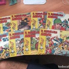 Tebeos: EL GUERRILLERO AUDAZ LOTE Nº 1, 2, 5, 6, 7, 13, 15 Y 16 (VALENCIANA ORIGINAL) (COIM8). Lote 130796620
