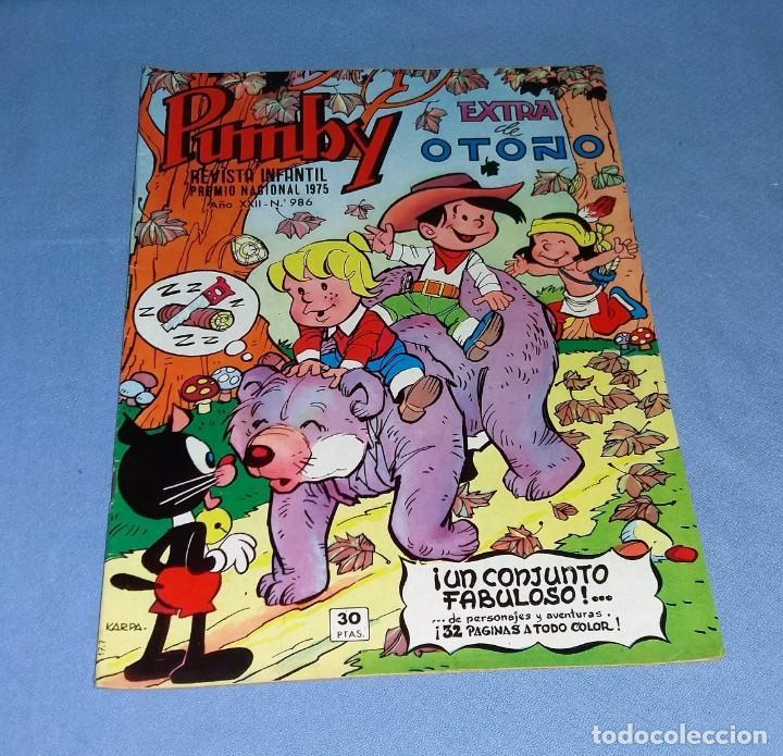 COMIC PUMBY EXTRA DE OTOÑO 1976 VALENCIANA EN MUY BUEN ESTADO ORIGINAL (Tebeos y Comics - Valenciana - Pumby)