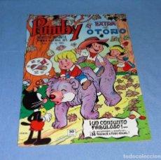 Tebeos: COMIC PUMBY EXTRA DE OTOÑO 1976 VALENCIANA EN MUY BUEN ESTADO ORIGINAL. Lote 130833760