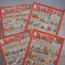 Tebeos: LOTE JAIMITO 4 EJEMPLARES MUY MUY BUEN ESTADO Nº 299 - 300 -301 Y 302 EDITORIAL VALENCIANA. Lote 130991000
