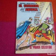 Tebeos: NUEVAS AVENTURAS DE EL GUERRERO DEL ANTIFAZ 64 EL PIRATA CELESTINE 1980 EDITORA VALENCIANA. Lote 131081248