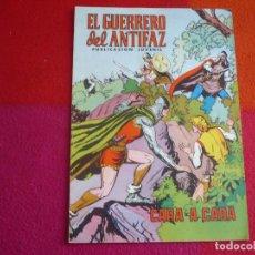 Tebeos: EL GUERRERO DEL ANTIFAZ 107 CARA A CARA PUBLICACION JUVENIL EDITORA VALENCIANA. Lote 131081448