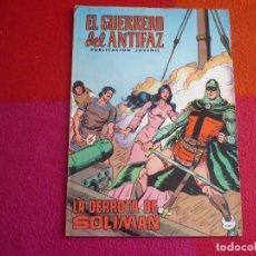 Tebeos: EL GUERRERO DEL ANTIFAZ 112 LA DERROTA DE SOLIMAN PUBLICACION JUVENIL EDITORA VALENCIANA. Lote 131081464