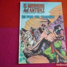 Tebeos: EL GUERRERO DEL ANTIFAZ 128 EN POS DEL TRAIDOR PUBLICACION JUVENIL EDITORA VALENCIANA. Lote 131081556