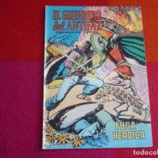 Tebeos: EL GUERRERO DEL ANTIFAZ 140 FUGA HEROICA PUBLICACION JUVENIL EDITORA VALENCIANA. Lote 131081628
