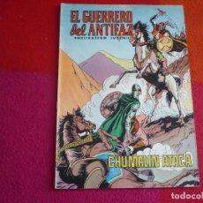 Tebeos: EL GUERRERO DEL ANTIFAZ 147 CHUMALIN ATACA PUBLICACION JUVENIL EDITORA VALENCIANA. Lote 131081676