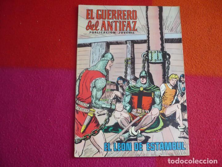 EL GUERRERO DEL ANTIFAZ 156 EL LEON DE ESTAMBUL PUBLICACION JUVENIL EDITORA VALENCIANA (Tebeos y Comics - Valenciana - Guerrero del Antifaz)