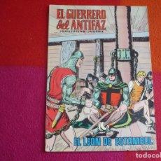 Tebeos: EL GUERRERO DEL ANTIFAZ 156 EL LEON DE ESTAMBUL PUBLICACION JUVENIL EDITORA VALENCIANA. Lote 144316640