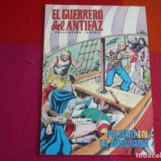 Tebeos: EL GUERRERO DEL ANTIFAZ 183 PELIGRO EN LA MONTANA PUBLICACION JUVENIL EDITORA VALENCIANA. Lote 131081776