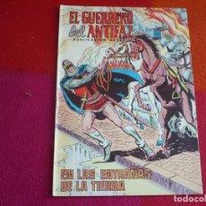 Tebeos: EL GUERRERO DEL ANTIFAZ 187 EN LAS ENTRAÑAS DE LA TIERRA PUBLICACION JUVENIL EDITORA VALENCIANA. Lote 131081996