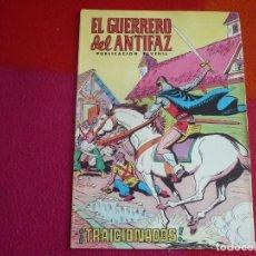 Tebeos: EL GUERRERO DEL ANTIFAZ 216 TRAICIONADOS PUBLICACION JUVENIL EDITORA VALENCIANA. Lote 131082116