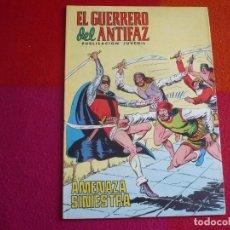 Tebeos: EL GUERRERO DEL ANTIFAZ 236 AMENAZA SINIESTRA PUBLICACION JUVENIL EDITORA VALENCIANA. Lote 131082444