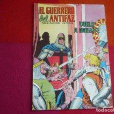 Tebeos: EL GUERRERO DEL ANTIFAZ 238 DUELO A MUERTE PUBLICACION JUVENIL EDITORA VALENCIANA. Lote 131082464