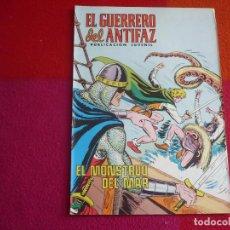 Tebeos: EL GUERRERO DEL ANTIFAZ 240 EL MONSTRUO DEL MAR PUBLICACION JUVENIL EDITORA VALENCIANA. Lote 131082536