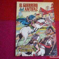 Tebeos: EL GUERRERO DEL ANTIFAZ 243 PESADILLA O REALIDAD PUBLICACION JUVENIL EDITORA VALENCIANA. Lote 131083440