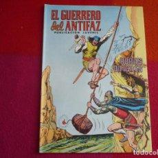Tebeos: EL GUERRERO DEL ANTIFAZ 245 HORAS DIFICILES PUBLICACION JUVENIL EDITORA VALENCIANA. Lote 131083460