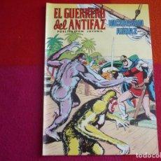 Tebeos: EL GUERRERO DEL ANTIFAZ 254 INCUSION AUDAZ PUBLICACION JUVENIL EDITORA VALENCIANA. Lote 131083628