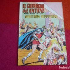 Tebeos: EL GUERRERO DEL ANTIFAZ 259 MISTERIO DESVELADO PUBLICACION JUVENIL EDITORA VALENCIANA. Lote 131083688