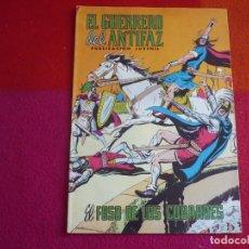 Tebeos: EL GUERRERO DEL ANTIFAZ 285 EL FOSO DE LOS COBARDES PUBLICACION JUVENIL EDITORA VALENCIANA. Lote 131083976