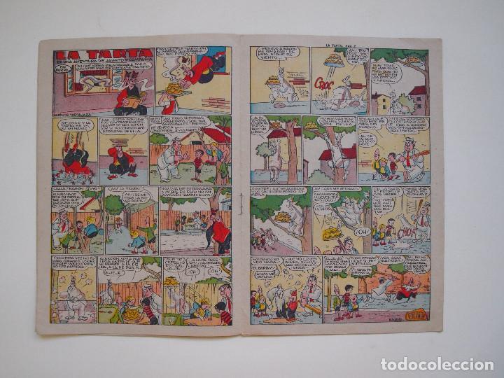 Tebeos: JAIMITO Nº 401 - AÑO XII - REVISTA PARA TODOS - EDITORIAL VALENCIANA 1957 - Foto 3 - 131111604