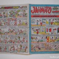 Tebeos: JAIMITO Nº 512 - AÑO XIV - REVISTA PARA TODOS - EDITORIAL VALENCIANA 1959. Lote 131112120