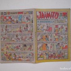 Tebeos: JAIMITO Nº 686 - AÑO XVII - REVISTA PARA LOS JOVENES - EDITORIAL VALENCIANA 1962. Lote 131113324
