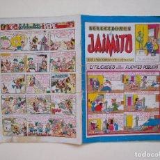 Tebeos: SELECCIONES DE JAIMITO Nº 38 - AÑO IV - REVISTA PARA TODOS - EDITORIAL VALENCIANA 1958. Lote 131119392