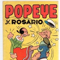 BDs: POPEYE Y ROSARIO. ORIGINAL, VALENCIANA. Lote 131236288