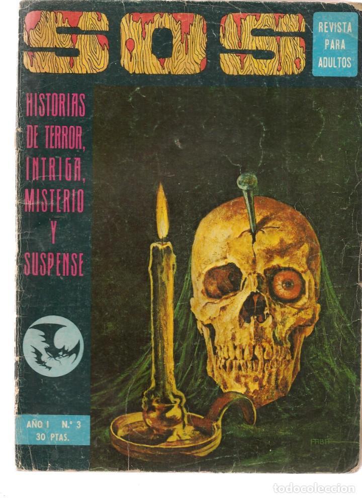 S.O.S. Nº 3. AÑO I. VALENCIANA 1975 (Z/C7) (Tebeos y Comics - Valenciana - S.O.S)