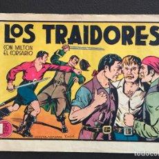 Tebeos: MILTON EL CORSARIO Nº 16, EDITORIAL VALENCIANA. Lote 131386314