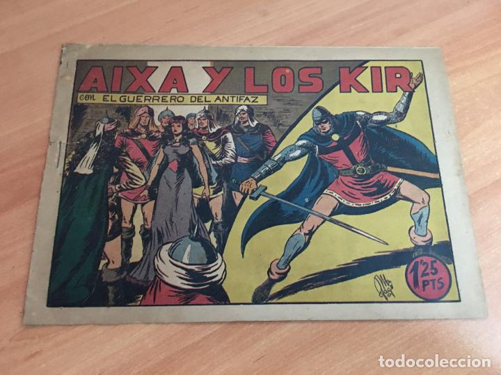 EL GUERRERO DEL ANTIFAZ Nº 88 AIXA Y LOS KIR (ORIGINAL ED. VALENCIANA) 1,25 PTAS (COIM9) (Tebeos y Comics - Valenciana - Guerrero del Antifaz)