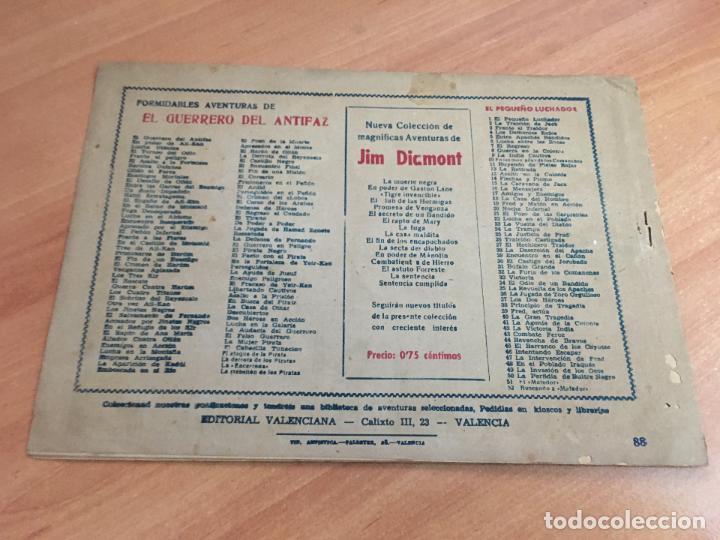Tebeos: EL GUERRERO DEL ANTIFAZ Nº 88 AIXA Y LOS KIR (ORIGINAL ED. VALENCIANA) 1,25 PTAS (COIM9) - Foto 2 - 131526734