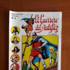 Tebeos: EL GUERRERO DEL ANTIFAZ. SERIE INÉDITA N° 4. EDITORIAL VALENCIANA. MUY BUEN ESTADO EN GENERAL. FOTOS. Lote 131526869
